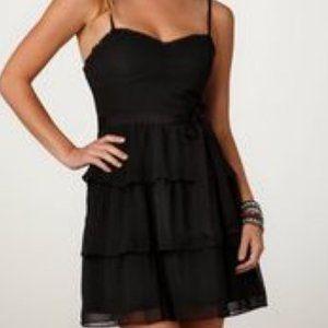 ✨2/$25!✨ AEO Black Dress with ruffles